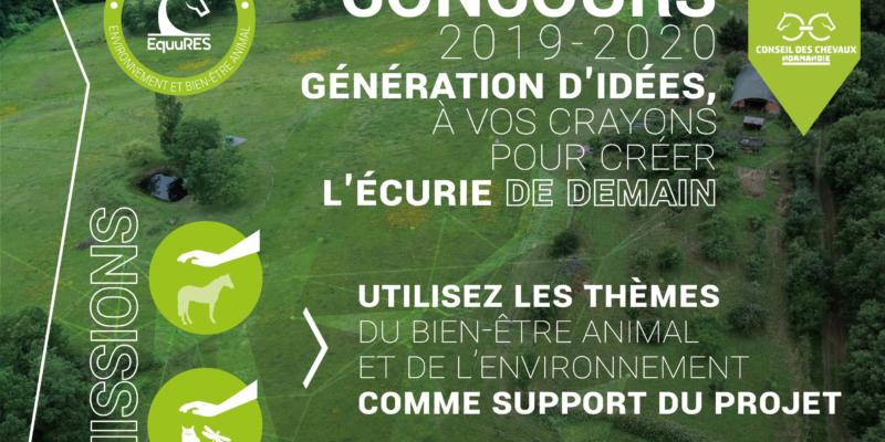 Résultats du concours Ecurie de demain organisé par le label EquuRES!