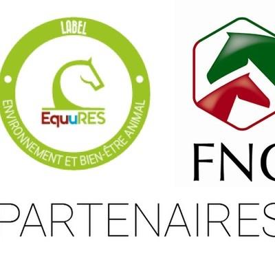 Le label EquuRES et la FNC collaborent  pour le bien-être équin