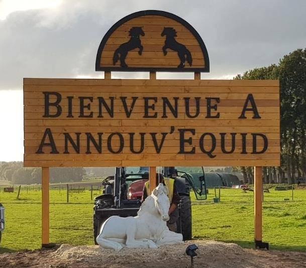 Annouv'Equid, un centre équestre et une pension à 2 pas des falaises d'Etretat, labellisé EquuRES