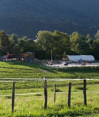 Les écuries du fort, à proximité de Chambéry, labellisées EquuRES