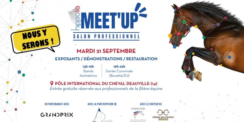 RDV à l'Hippolia Meet'up, salon professionnel, le mardi 21 septembre 2021
